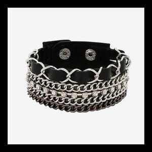 ❗️NEW❗️Punk Princess Mixed Chain Cuff